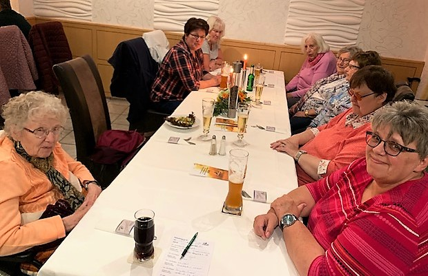 Damenessen Oktober 2020 im Hotel und Restaurant Zum Starenkasten